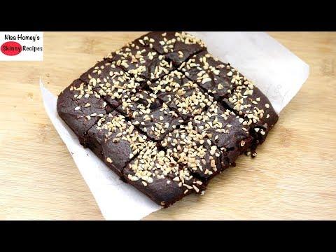 Khapli Brownie Recipe Eggless, Dairy Free & Low Gluten | Skinny Recipes