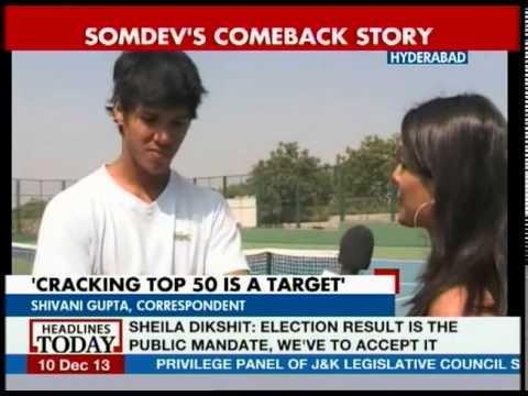 Focus will be on improving my game: Somdev Devvarman
