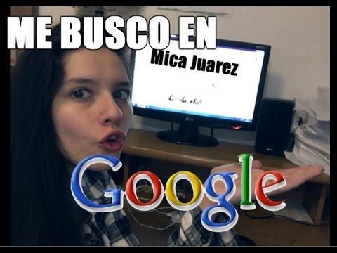 ME BUSCO EN GOOGLE / STALKEO FANS - Mica Suarez