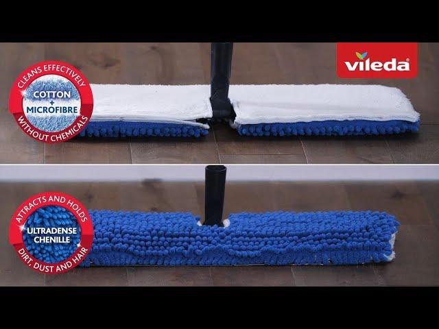 Vileda Microfibre Flip Mop For Wet