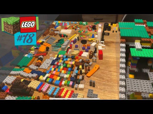 LEGO® X Minecraft World #18 - Tragen die Säulen? Wenn nicht: tragisch!