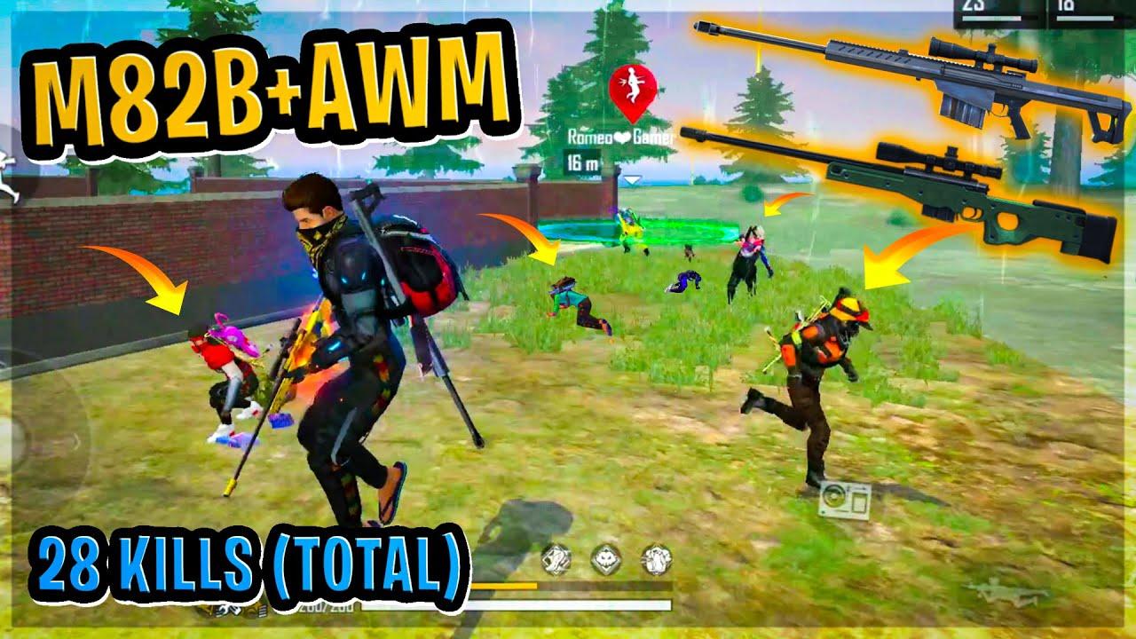 Factory Top Scam || AWM + M82B Gamplay || Garena Free Fire || Desi Gamers
