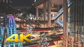 Roppongi-itchome Christmas Lights 泉ガーデン・アークヒルズ 六本木一丁目イルミネーション2016 (SONY RX100M4) 4K UHD - TOKYO TRIP