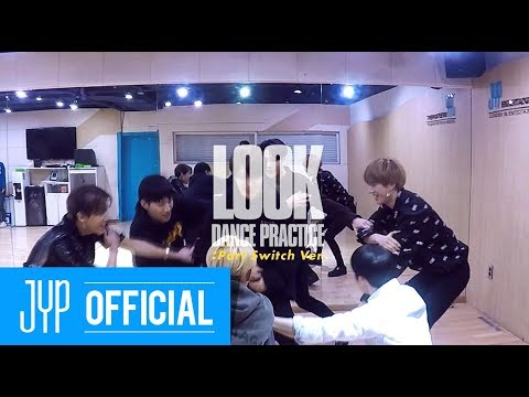 """GOT7 """"Look"""" Dance Practice (Part Switch Ver.)"""