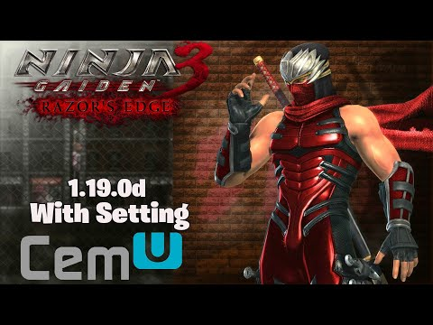 Perfect Ninja Gaiden 3 Razor S Edge Pc Gameplay 60fps Cemu