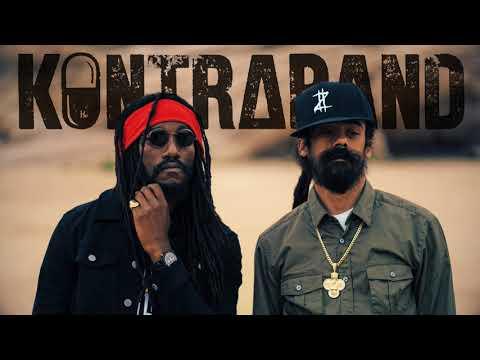 """Kabaka Pyramid Feat. Damian """"Jr. Gong"""" Marley - Kontraband [Official Audio]"""