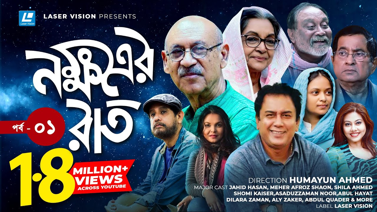 Nokkhotrer Raat | Bangla Natok | Episode 01 | Humayun Ahmed | Asaduzzaman Noor | Jahid Hasan | Shaon