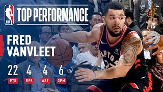 Fred VanVleet Scores 22 Pts in Win vs. Cavs | January 11, 2018