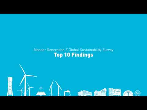Masdar GenZ Sustainability Survey