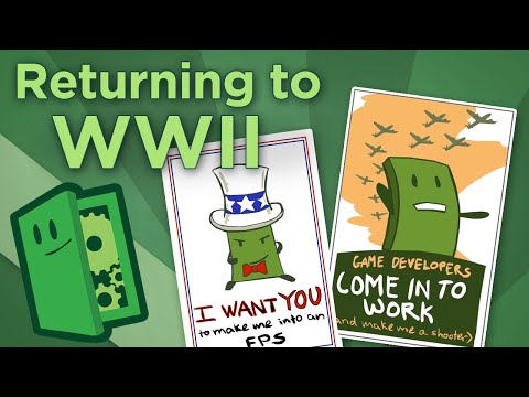 Returning to WWII - Four New Approaches to War Games - Extra Credits