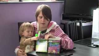 Organix Goodies Oaty Bars - Baby Food Review Video - Reviewgear