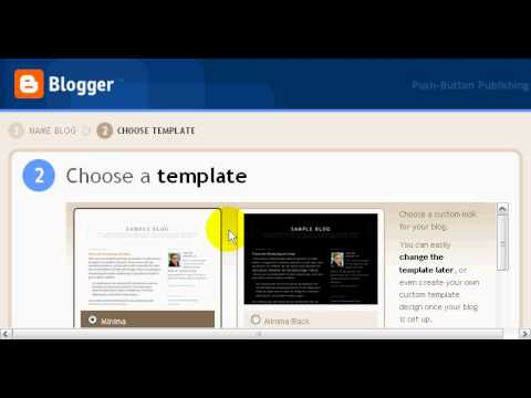 Using Blogger Blogs to sell Clickbank marketplace products