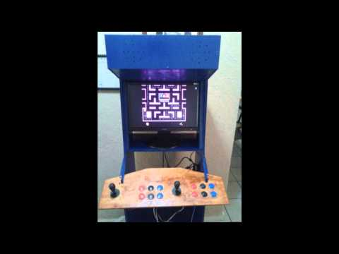 Raspberry pi 2 Arcade Project