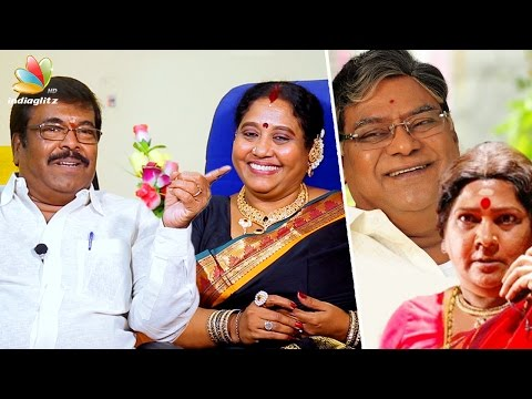 Voice of Sornakka, Kota Srinivasa Rao : Dubbing Artists M & Srilekha Rajendran Interview | Vani Rani