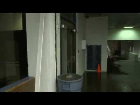 Indoors Waterfall at Dalhousie University