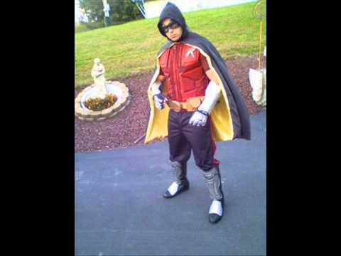 Arkham City Robin Costume - YouTube
