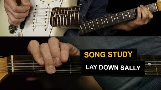 Lay Down Sally by Eric Clapton - Electric Guitar Lesson