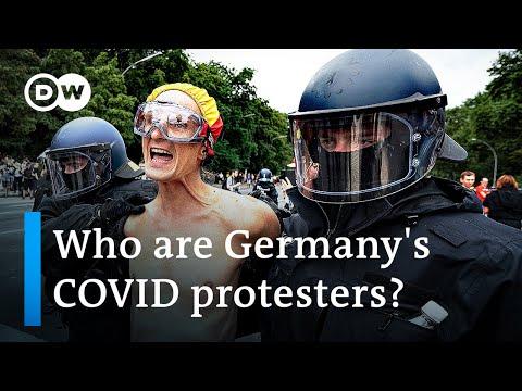 Berlin police take on anti-COVID-lockdown protesters   DW News