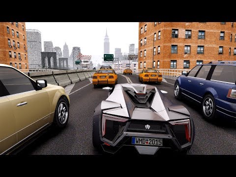 GTA 4 ULTRA REALISTIC GRAPHICS MOD Gameplay 2018 (4K)