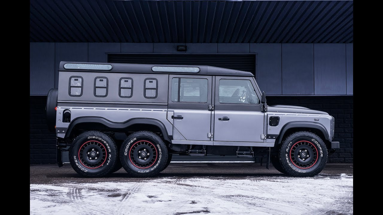 Building the Chelsea Truck Company Civilian 6X6 Defender ...