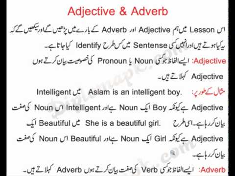 Adjective Adverb Definition And Examples Of Adjective Adverb