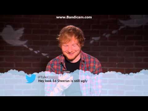 Ed Sheeran Reads Mean Tweet