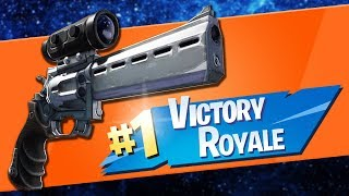 NEW Scoped Revolver Gameplay Win! Fortnite Update v 7.20 (New Fortnite v7.20 Patch Notes)