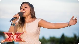 Alisah Bonaobra gives it her all for a place at Live Shows  | Judges' Houses | The X Factor 2017