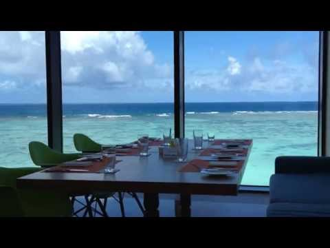 Soothing View from Restaurant「Aqua」@ Dusit Thani Guam