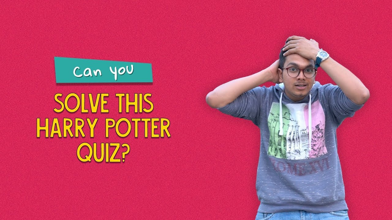 Can You Solve This Harry Potter Quiz? | Ft  Kanishk & Arushi | Ok Tested