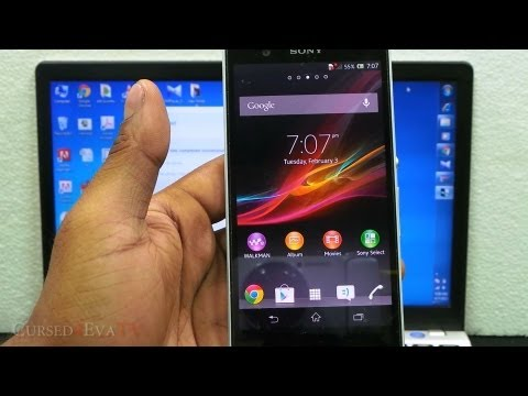 How To Unroot / Unbrick The Sony Xperia Z - All Variants - (Easiest & Safest)