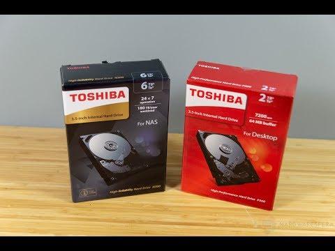 Analisis discos duros TOSHIBA P300 y N300 - Para escritorio y NAS