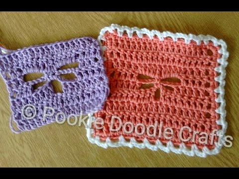 Dragonfly Stitch Crochet Tutorial Youtube