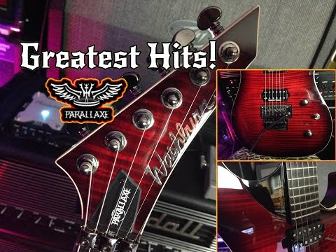 Electric Guitar's Greatest Hits! Washburn Parallaxe using RANDALL 667