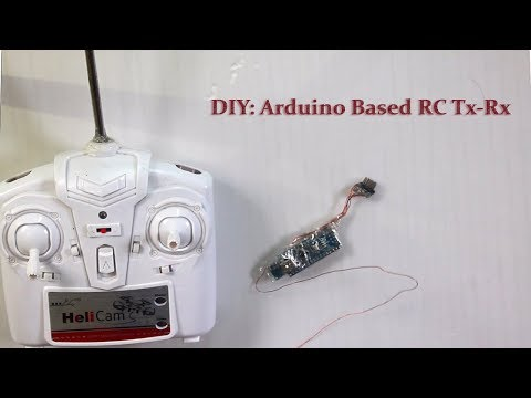 DIY: Arduino Based 4 Channel RC Tx And Rx