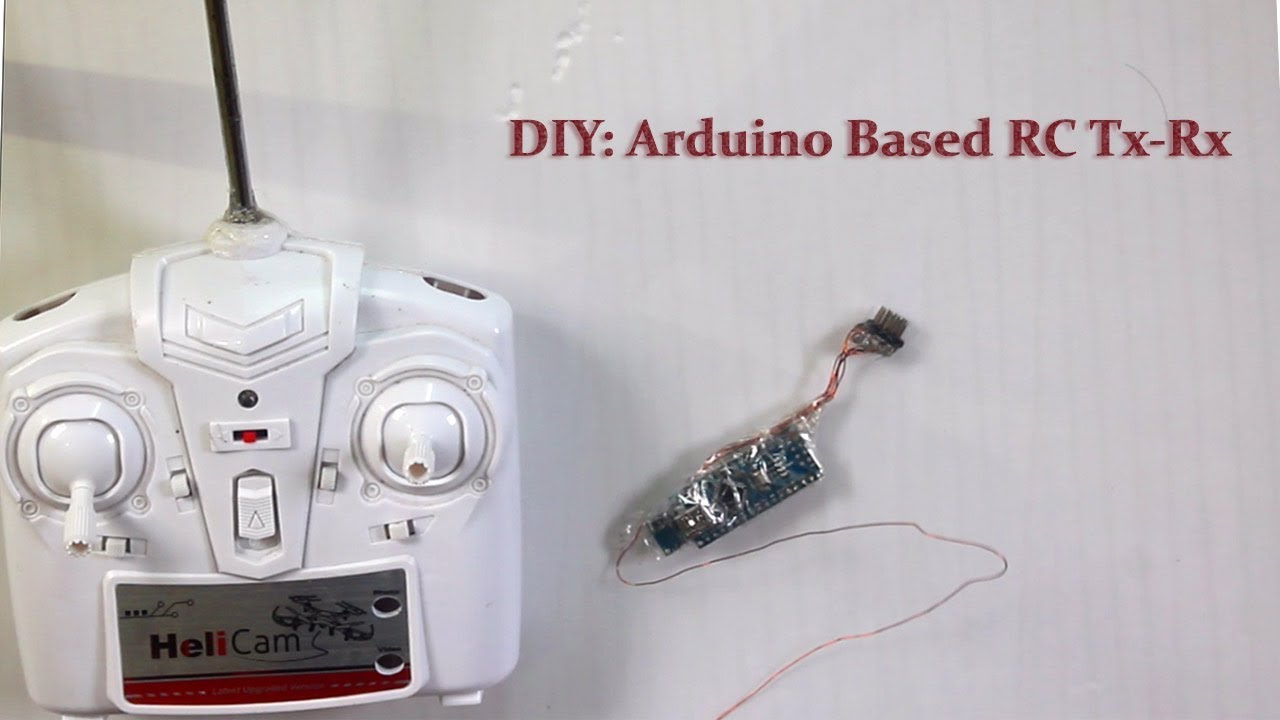 DIY: Arduino Based RC Transmitter and Receiver: 5 Steps (with Pictures)
