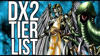 Dx2 Liberation - PVP Tier List