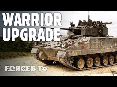 WARRIOR UPGRADE: Is This The Future Of The British Army's Armoured Vehicle? | Forces TV