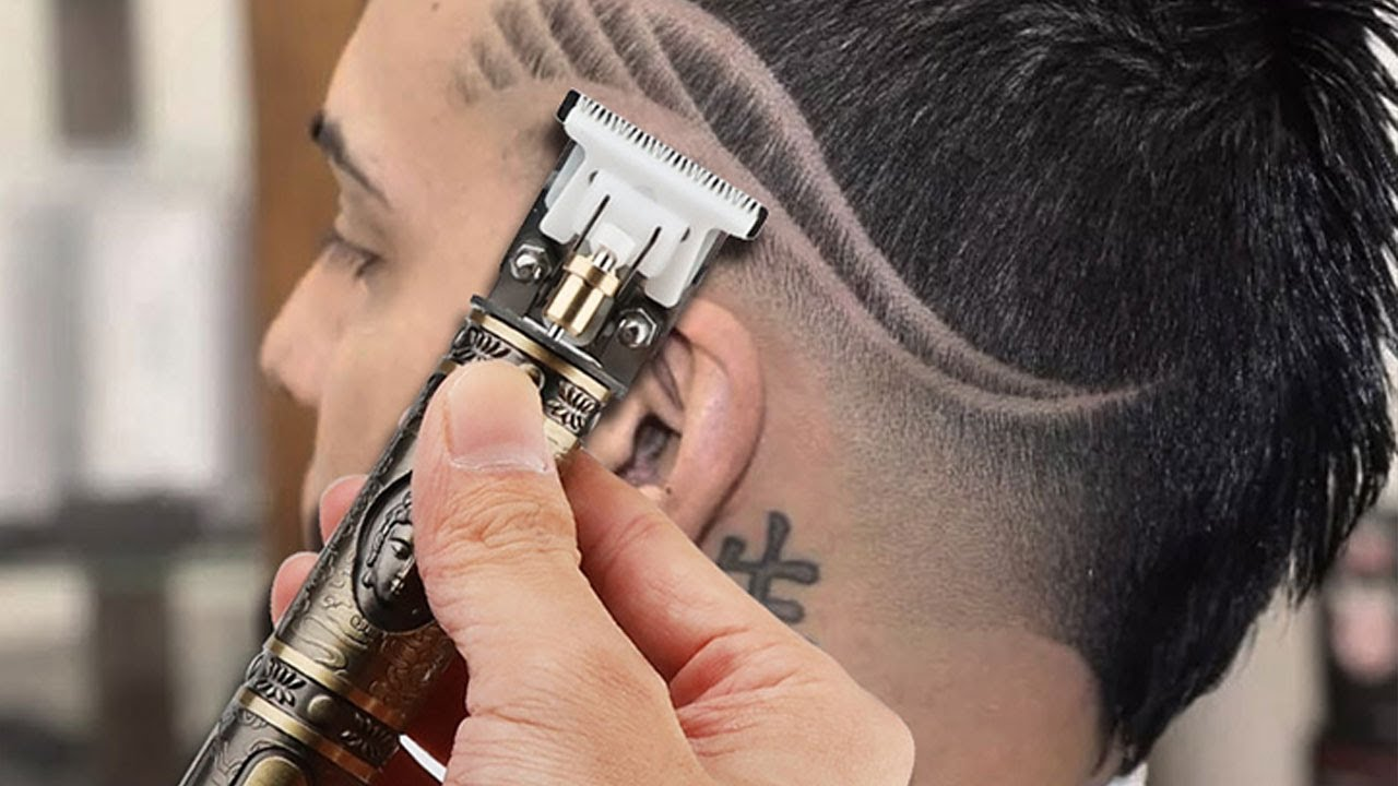 Cordless Close Cutting T-Blade Trimmer | 0mm Bald headed Hair Clippers  Review 2020 - YouTube