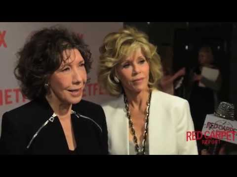 Lily Tomlin & Jane Fonda Interviewed at NETFLIX's Grace and Frankie #FYC Screening #GraceandFrankie