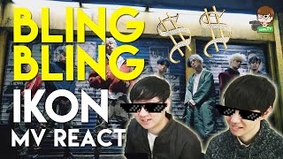 "iKON - 'Bling Bling' MV Reaction - ""A N J AAAYY~ PECAAHH"""