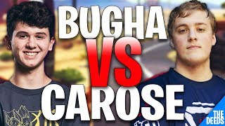 SEN Bugha 1 VS 1 SEN Carose - France Fortnite Creative 1v1 SEN BUILD FIGHTS