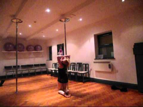 Beginners Pole Dance Routine - Polesque style