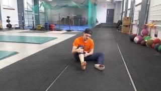 Étirement des fléchisseurs des orteils et du gros orteil