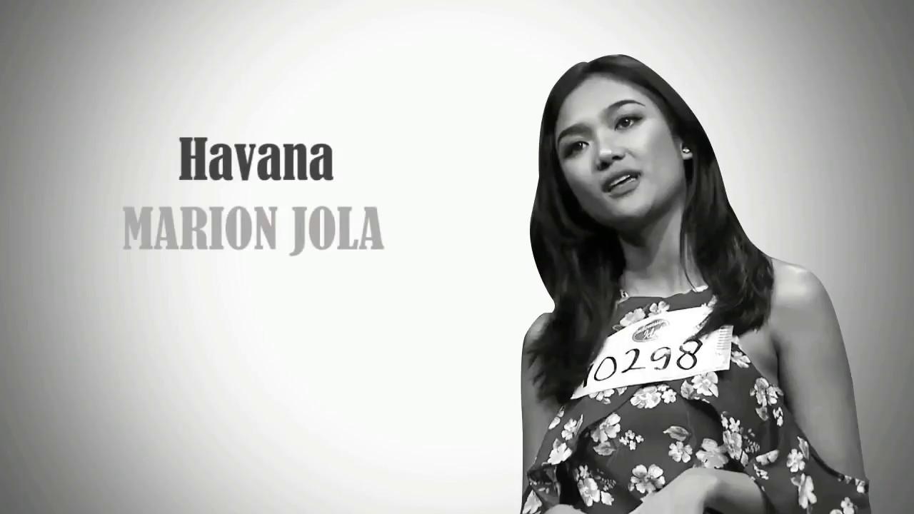 Marion Jola: Havanna (Camila Cabello Ft. Young Thug) Cover By Marion