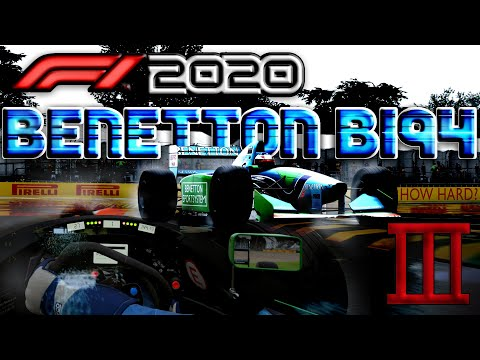 F1 2020 - HOW DIFFICULT IS THE BENETTON B194? |