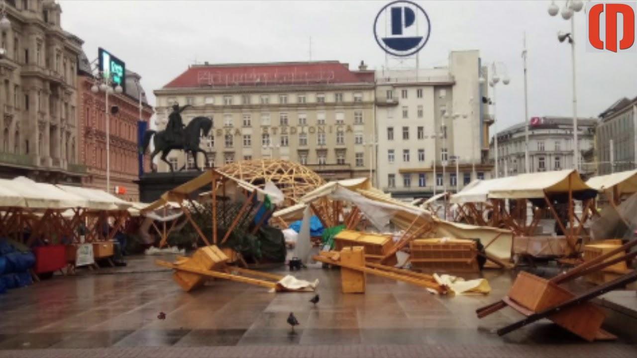 Zagreb U Kaosu Nevrijeme Poharalo Grad I Okolicu Youtube