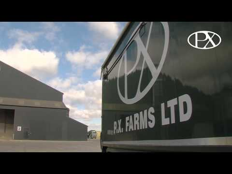 P.X. Farms Ltd a grain storage and cleaning premium service