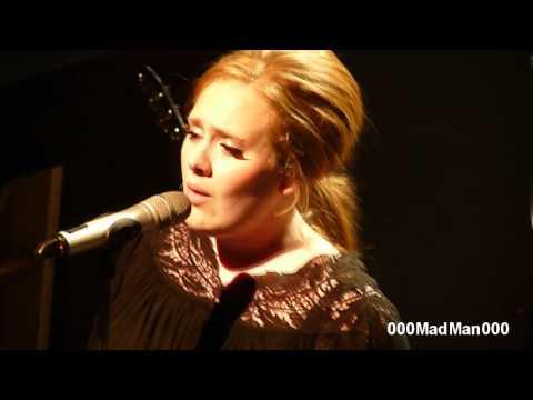 Adele - 11. Right as Rain - Full Paris Live Concert HD at La Cigale (4 Apr 2011)