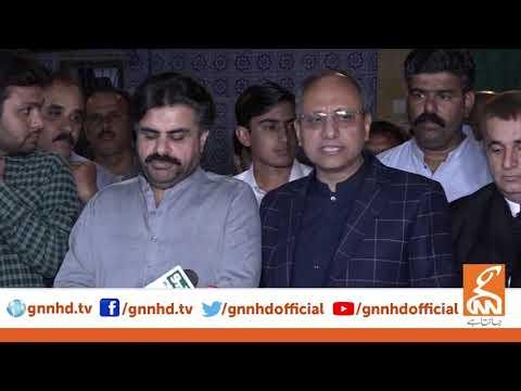 PPP-Leader Saeed Ghani